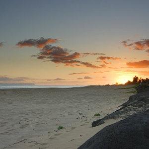 Пляж Сансет Бич
