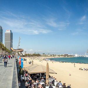 Набережная Барселоны