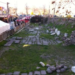 Римская дорога в Анкаре