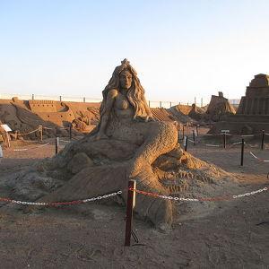 Выставка песчаных скульптур