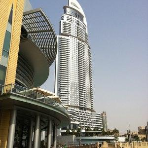 Адрес-даунтаун-Дубай